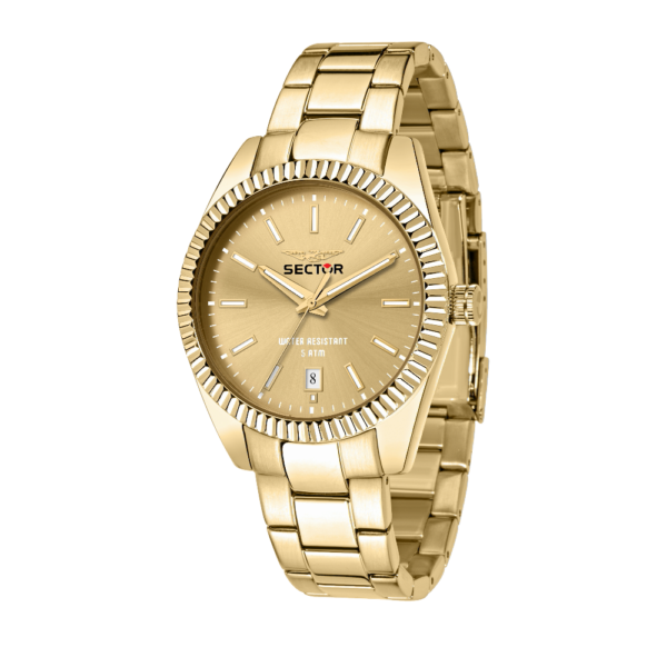 240 Collection 41 mm Guld skive