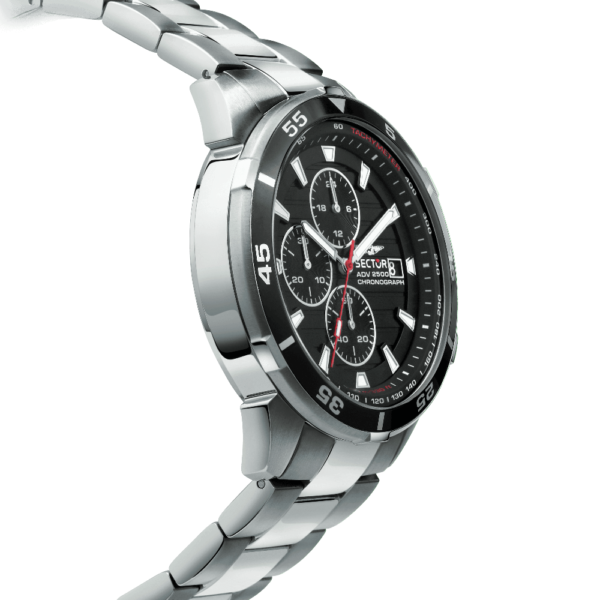 ADV 2500 Collection 43 mm Sort skive