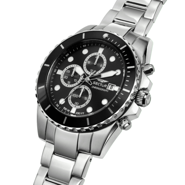 450 Collection 48 mm Sort  skive