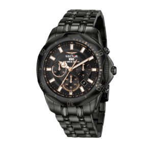 950 Collection 44 mm Sort skive